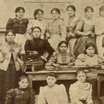 Dohánygyári nők – több mint 120 éves fotót találtak