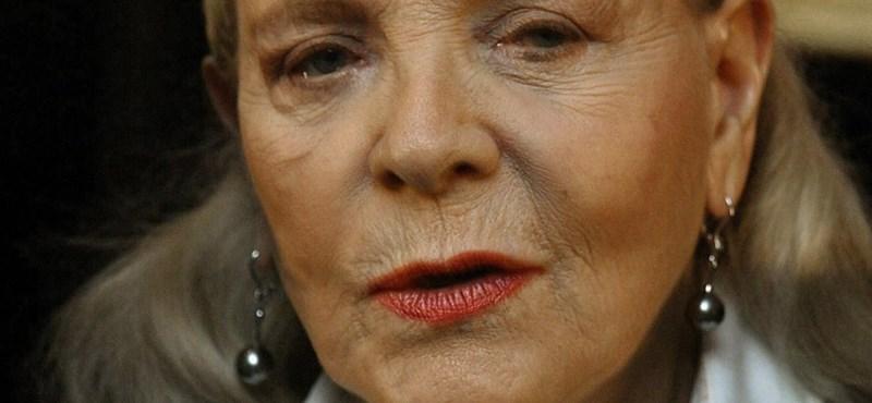 Meghalt Lauren Bacall amerikai színésznő