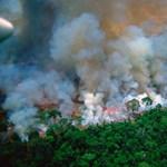 Macron az amazonasi erdőtűzről: Ég a házunk!
