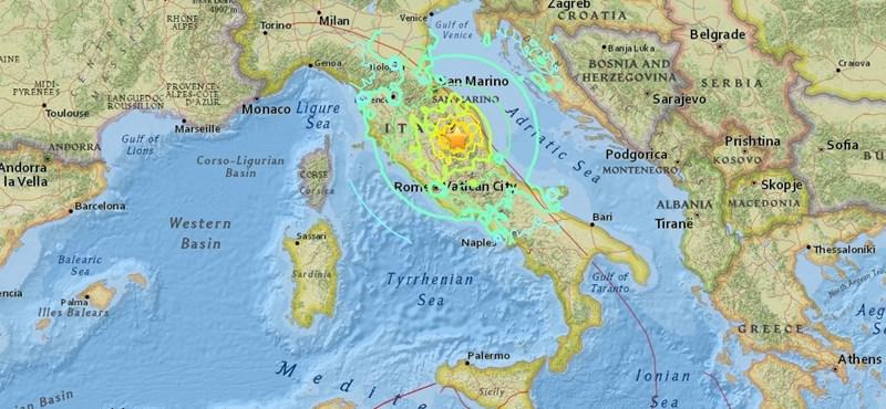"""""""Nagyon erős földmozgás volt"""" - Ausztriában is érezni lehetett a reggeli olasz földrengést"""