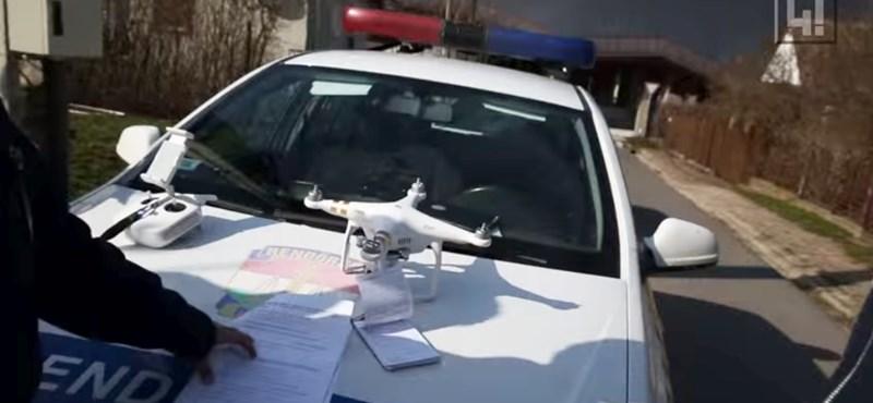 Elvették a rendőrök a 444.hu drónját Orbán falujában