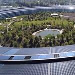 Közelről láthatja, milyen most az Apple Park