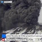 Síelők mellett tört ki egy chilei vulkán