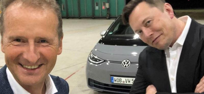 """A VW vezére szerint """"vén autógyárként"""" tekintenek rájuk a befektetők"""