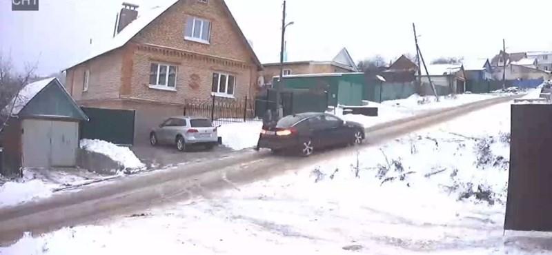 Ez a legőrültebb utcácska Oroszországban – videó