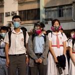 Letartóztatta a hongkongi rendőrség a meglőtt diákot