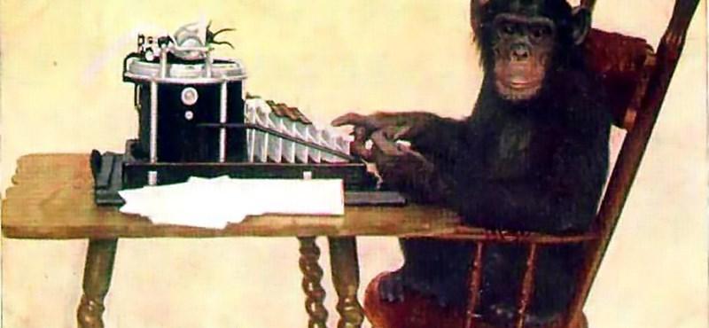 Virtuális majmok Shakespeare-t írnak