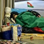 Négy hajléktalan közül három lakásban élhetne