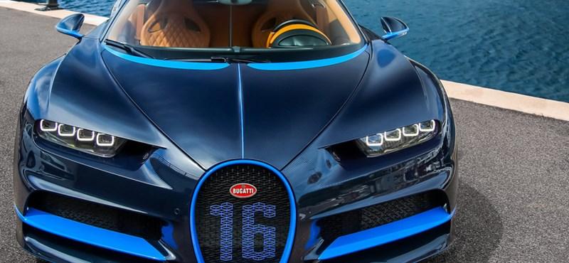 """Ilyen egy akciós, """"csak"""" 1 milliárd forintba kerülő Bugatti Chiron"""