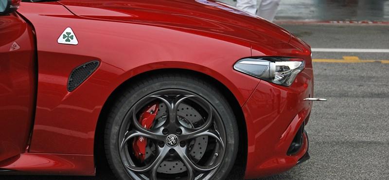 Nagyon kemény kört ment egy új rekordért az Alfa Romeo Giulia a Nürburgringen - videó