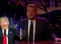 James Corden még egyszer utoljára jól kiparodizálja Trumpot