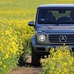 A kocka el van vetve: teszten a teljesen új Mercedes G-osztály