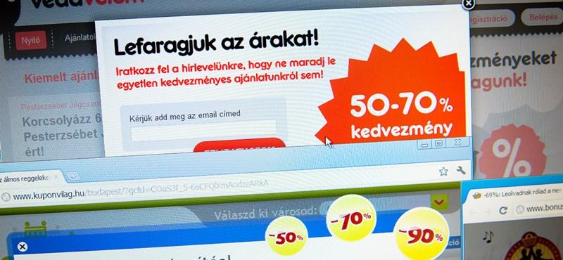 Közleményháború a kuponos oldalak között