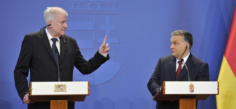 Orbán mellett megint kiállt a bajor kormányfő
