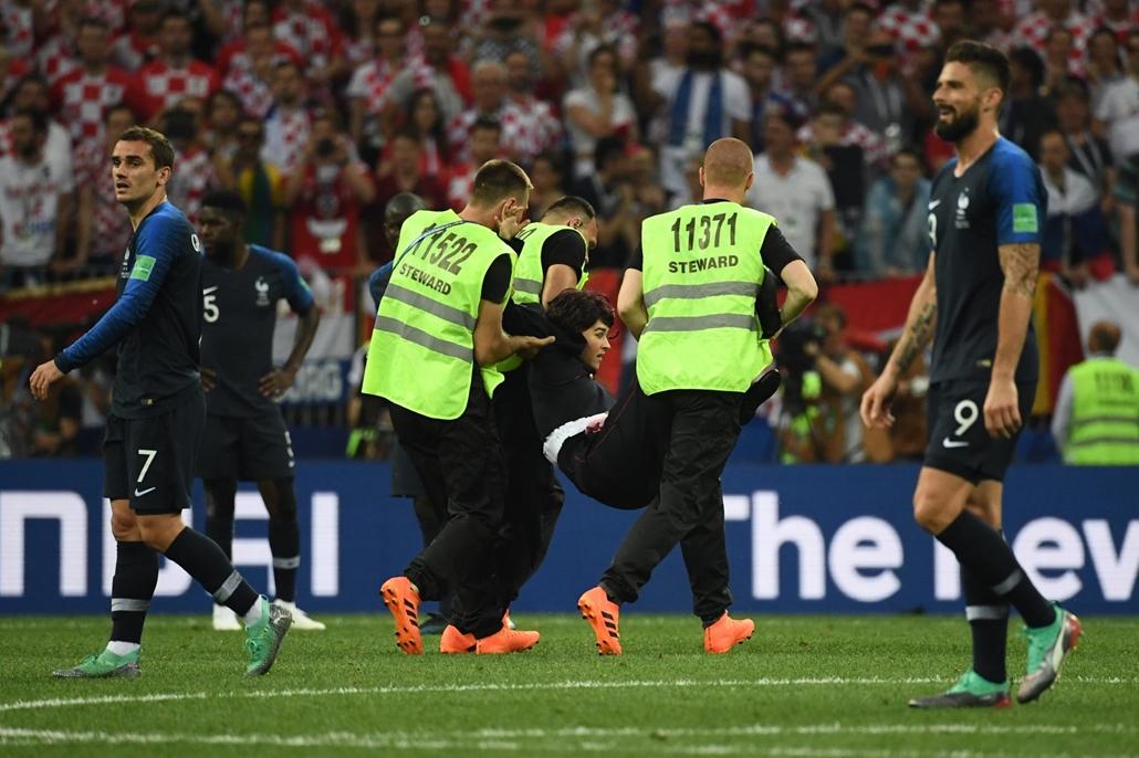 18.07.15. Franciaország-Horvátország világbajnoki döntő