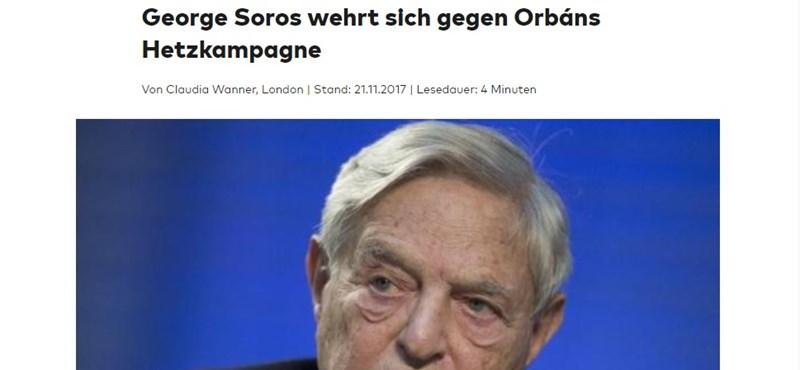 Die Welt: ez állhat Orbán Viktor hecckampánya mögött