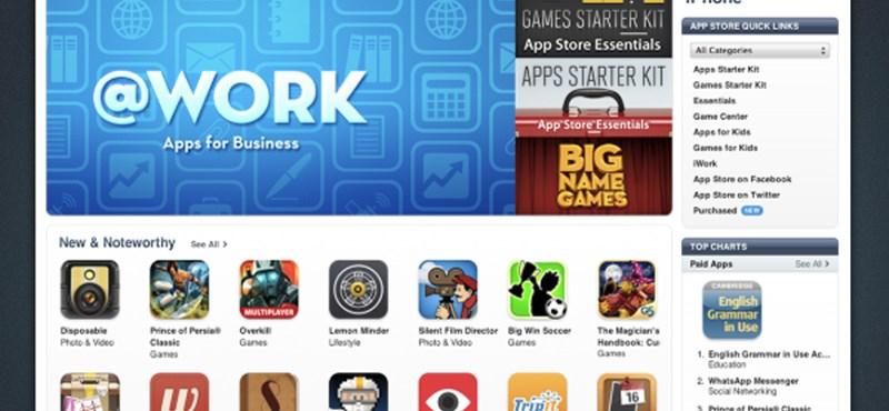32 további országba érkezik az AppStore