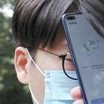 A koronavírus inspirálta: lázmérő funkcióval jön a Huawei új telefonja