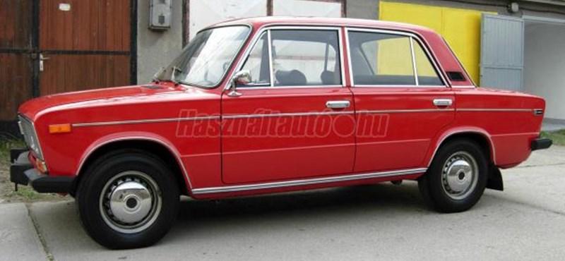 Időutazás: alig használt 37 éves 1600-as Lada 5 millió forintért