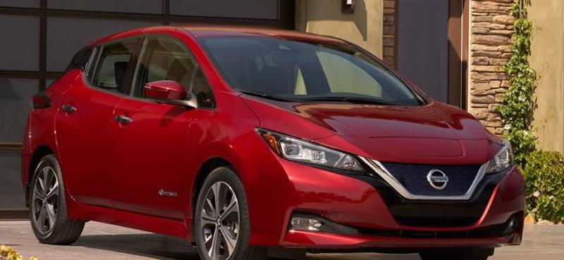 Rajtvonalnál az új Nissan Leaf, februárban vehetők át az első példányok