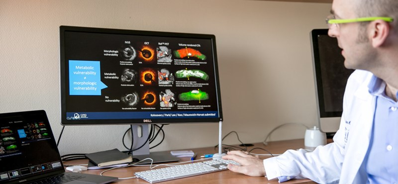 Egy magyar kutató egy egyszerű vérvételből megmutatná, kinél esélyes a szívinfarktus