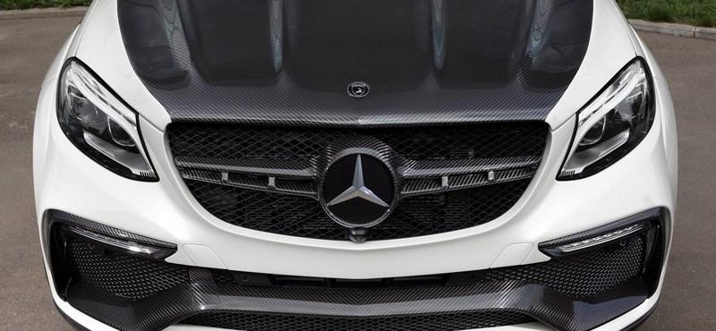 Infernális a tuningolt Mercedes-AMG GLE 63 Coupé
