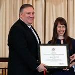Washingtonban vehetett át kitüntetést az emberkereskedelem ellen küzdő magyar aktivista