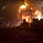 Nagyon durva videó került ki a tiencsini robbanásról