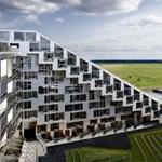 Lakókolónia az év zöldtetős épülete