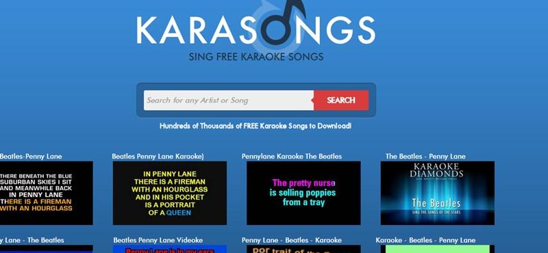 Szórakozni szeretne? Sok-sok ezer karaoke-videó várja ezeken az oldalakon