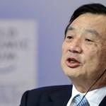 Huawei-alapító: Nem tud eltiporni minket Amerika