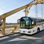 Csuklós busz helyett is beválhat az új 13 méteres magyar busz