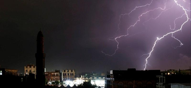 Megint viharokra figyelmeztet az OMSZ