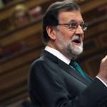Megbuktatták Mariano Rajoy spanyol miniszterelnököt