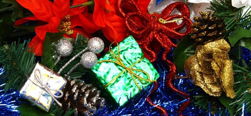 Ünnepi lakásdekoráció karácsonyra