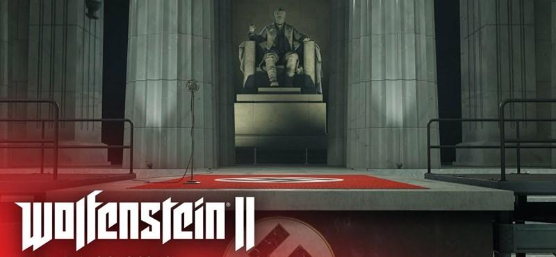 Jól látja, valóban maga Hitler tűnik fel a Wolfenstein II új videójában