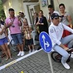 Rosberg nyert Monzában