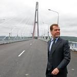 Fotó: új híd épült a Távol-Kelet Boszporuszán
