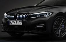 Világító hűtőrácsot kapott a 3-as BMW
