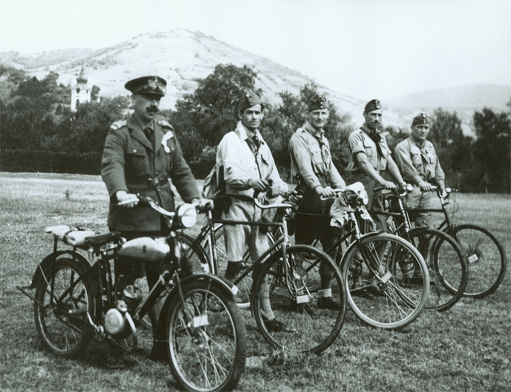biciklis járőrök - cserkészet, cserkész, cserknagy