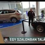 Autószalonban látta viszont eltűnt luxusautóját egy magyar férfi