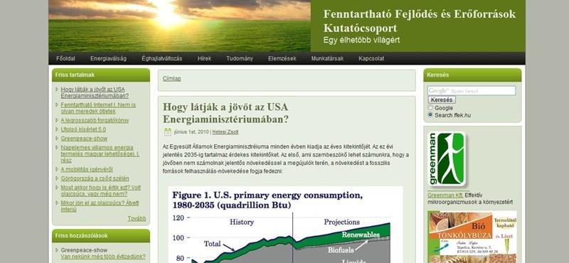 Milyen lesz a jövőnk az USA energiaügyi minisztériuma szerint?