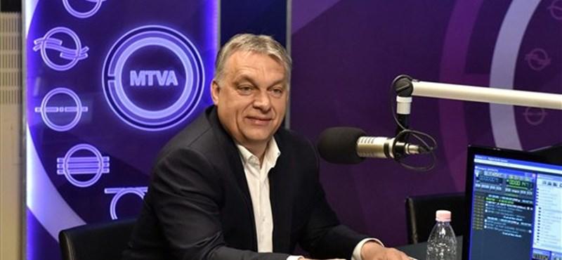 """""""Emberek, egyszer lehet elrontani"""" – a választóknak üzent Orbán a rádióból"""