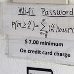 Ha megfejted az étterem WiFi-kódját, valószínűleg egy zseni vagy