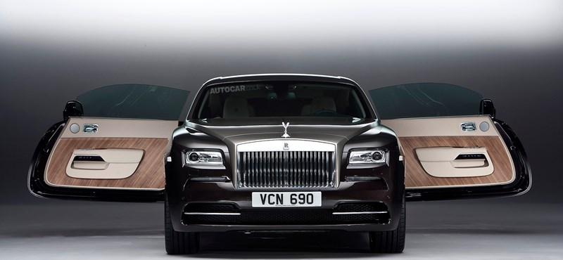 Öngyilkos ajtókkal jött a legdurvább Rolls-Royce is