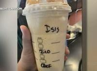 ISIS – írták egy muszlim nő kávéjára a Starbucksban