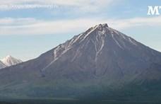 Ismét aktív egy kamcsatkai vulkán, a kutatók szerint a kitörése katasztrofális lehet