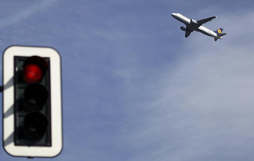 Lufthansa - kabinszemélyzet sztrájkja Münchenben