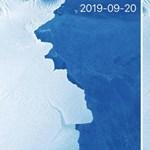 Tovább sodródik egy Antarktiszról leszakadt 315 milliárd tonnás jéghegy