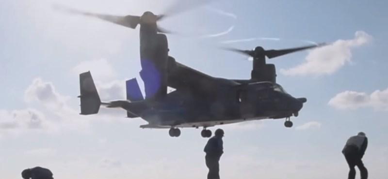 Különleges amerikai repülő szeli kedden Budapest egét